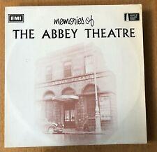 Memories of the Abbey Theatre Dublin Vinyl LP (1971) -  Synge - O'Casey etc