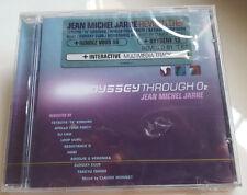 "JEAN MICHEL JARRE ""ODDYSSEY THROUGH O2"" CD / APOLLO 440 - KOMURO - ISHINO SEALED"