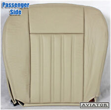 2003-2004 Lincoln Aviator 2WD 4X4 -Passenger Side Bottom Leather Seat Cover Tan