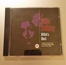 Billie's Best by Billie Holiday (CD, May-1992, Verve)