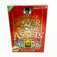 Cover Your Assets Grandpa Beck's Card Game Award Game Of The Year Sealed New