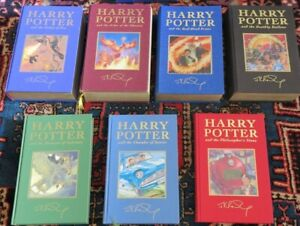 HARRY POTTER Deluxe Limited Edition, Rare Boxed Set of Books 1-7