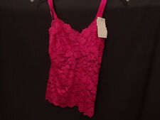 Cabernet Pink Lace Camisole Small