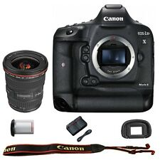 Canon EOS 1DX Mark II DSLR Camera Body with EF 17-40mm f/4L USM Lens
