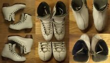 Ice Figure Skates Riedell 75 Gold Star boots only Girls Size 1.5