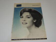 Film 21/1966 polish magazine Michele Mercier, Julie Christie, Shirley Mac Laine