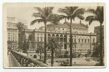 POSTCARD-BRAZIL-SAO PAULO-RP. Theatro Municipal.