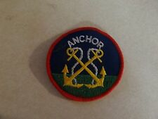 PATCH MILITARY ANCHOR UNSURE OF WHAT THIS IS USED ON NAVY MAYBE