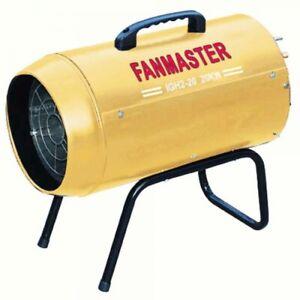 Fanmaster 20kW Portable Industrial LPG Fan Heater IGH2-20