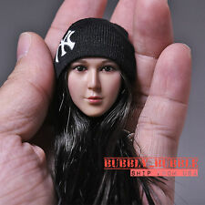 1/6 X-MEN Blink Female Head Sculpt with Hat For Phicen Hot Toys SHIP FROM USA