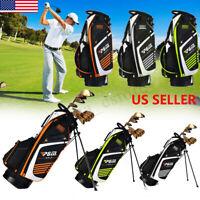Golf Cart Bag 14 Way Full Length Divider Multi Pockets (1 beverage cool)