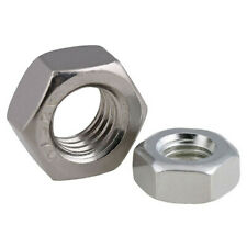 Hex Finished Nuts Left Hand Reverse Thread Grade 2 304 Stainless Steel Metric