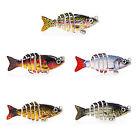 "2"" Swimbait Multi Jointed Bass Fishing Lure Life-like Hard Lures Bluegill MML13"