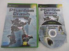 PHANTOM CRASH - MICROSOFT X BOX - Jeu XBOX PAL Fr COMPLET