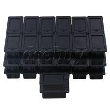 Guitar Bass 9V Battery Holder Case Box Pickup Flip-Open Type Set of 50