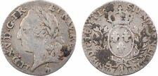 Louis XV, 20e d'écu au bandeau, 17 ?, Paris, argent - 11