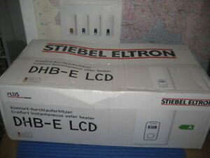 Stiebel Eltron DHB-E 18/21/24LCD Durchlauferhitzer236745,18,21,24kW,NEU&OVP