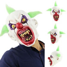Horror Film SCARY Halloween Deluxe Evil CLOWN SKINNER Latex Collectors Mask
