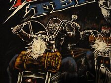Vintage MOTORCYCLE Rally ROLLING THUNDER Vietnam War POW MIA T Shirt size XL