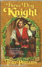 Three Dog Knight by Tori Phillips (1998, Paperback Book)