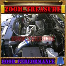 BLUE 1996-2005/96-05 CHEVY S10 ZR2/ZR5/BLAZER/SONOMA/JIMMY/HOMBRE V6 AIR INTAKE
