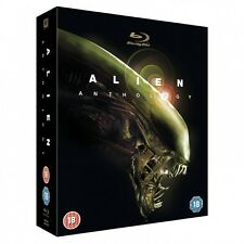 Alien Anthology: Complete Movies 1 2 3 4 Collection Boxed BluRay Set NEW!