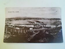 Rare Old Postcard DOUGLAS BAY Isle of Man Franked 1912 No Stamp