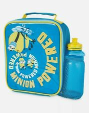 Minions Lunch Bag And Drinks Sport Bottle Set Work School Present Gift