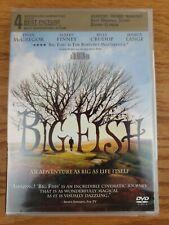 New, Big Fish (Dvd,2004) Helena Bonham Carter, Alison Lohman, Robert Gullaume