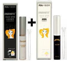 korea darkness eyelash glue double eyelid white + black set eye lash