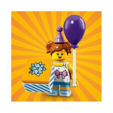 LEGO 71021 - Series 18 - Birthday Party Girl - Mini Fig / Minifigure