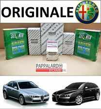 KIT TAGLIANDO 4 FILTRI ORIGINALI + OLIO SELENIA 5W30 ALFA ROMEO 159 1.9 JTDM