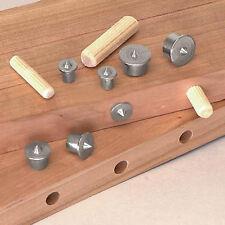 8 stk/Set Dübelbohrer Mittelpunkte Pin Holzdübel Tenon Dübelzenter Tool HOT SELL