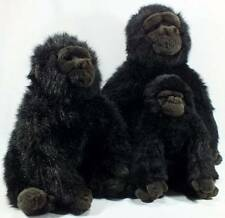 TY Plush Gorilla Big George Family Large Medium and Small 3 Pieces 1989