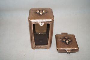Grablampe, Grablaterne  und Weihkessel aus Bronze Strassacker 40011 + 50015
