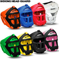 Head Guard Helmet Boxing MMA Martial Arts Headgear Protector Kick Boxing