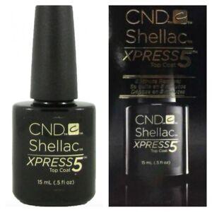 CND Shellac Original Xpress5 Top Coat 15ml Bottle ***CLEARANCE STOCK***