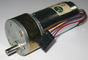 Buehler 200 RPM Heavy Duty 18 V DC Gearhead Motor - Low Speed High Torque Motor