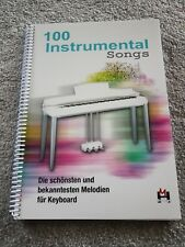 100 INSTRUMENTAL SONGS songbook, fake book, busker book