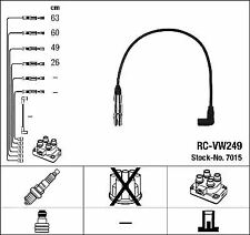 NGK RC-VW249 Ignition Lead Set NTK Copper Core  4 Circuit