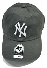'47 Brand Mens MLB New York Yankees '47 Clean Up Strapback Dad Cap Hat New