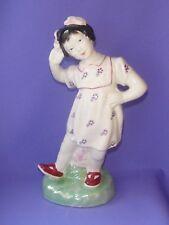 Chinese Jingdezhen Porcelain Statue China Dancing Girl Pioneer Figurine Vintage