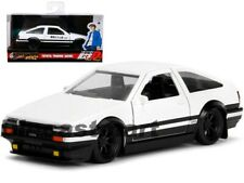 Jada 1:32 Hollywood Rides Initial D 1986 Toyota Trueno AE86 Model White 99801