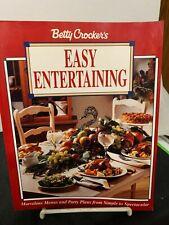 New listing Betty Crocker'S Easy Entertaining