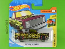 HOT WHEELS 2019 -  ´83 Chevy Silverado  - HW Art Cars -  247  - neu in OVP