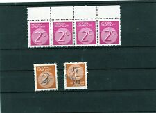 New South Wales Stamp Duty stamps, Australia, 4 MNH with one crease and 2 used.