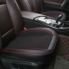 Universal Auto Car PU Leather Front Seat Cover Protector Cushion Cover Pad Black