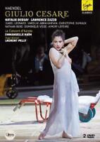 Natalie Dessay - Handel Giulio Cesare (NEW DVD)