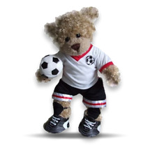 More details for teddy bear clothes fits build a bears teddy's football outfit + boots free ball