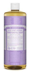 Dr Bronner Lavender Castile Liquid  Body Soap - 946ml